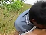 Sexi village aunty has her boobs and ass pressed.
